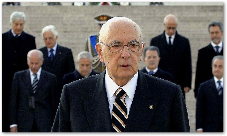 Lettera del Presidente Napolitano alle camere per il DDL non firmato