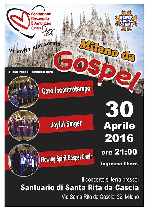 Concerto Gospel nel Santuario di Santa Rita